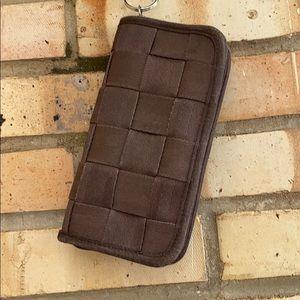 [Harveys] Classic seatbelt Wallet in Espresso